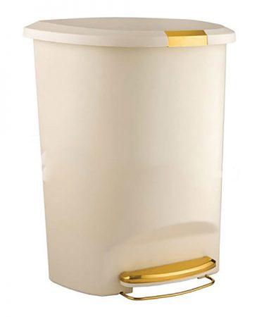 سطل پدالی 50 لیتری لیمون مدل